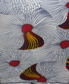 Vlisco Wax Block - English Gold White