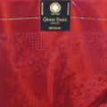 Grand Swiss Headtie  - Wine Red