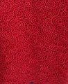 Guipure Lace GH2088 - Red
