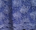 Guipure Lace - Royal Blue Lurex
