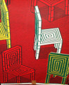 Vlisco Wax Block - Chair