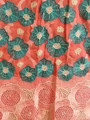 Swiss Voile Lace - Peach and Green