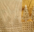 Taffeta George with Blouse - Gold - Christmas Tree1
