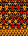Vlisco Wax Block - Okoso