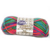 Cast On Cascade 8ply Rainbow - 10 pack