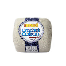 Crochet Cotton Natural 50g - 10 Pack