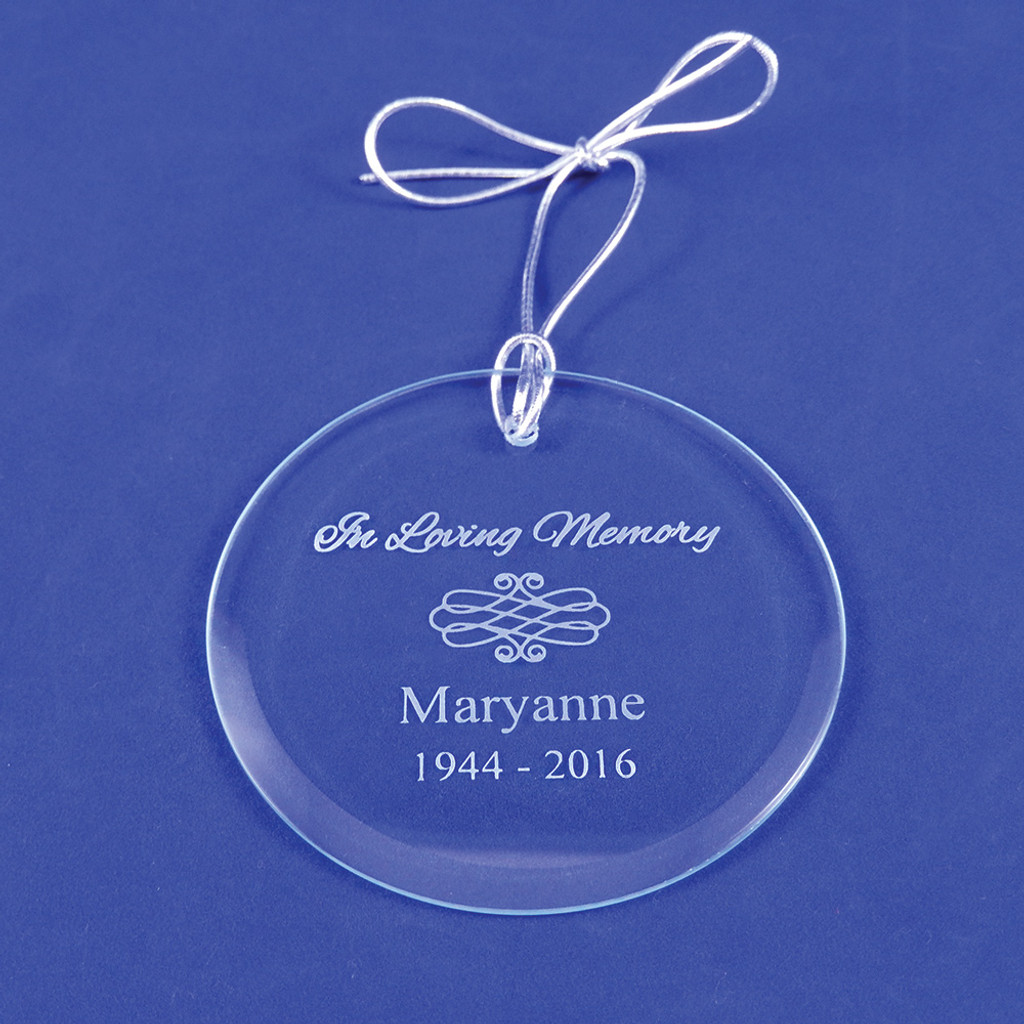 Personalized In Loving Memory Ornament