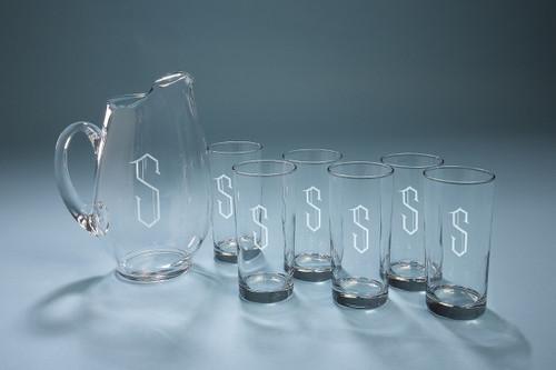 Personalized Mario Lanza Drink Set
