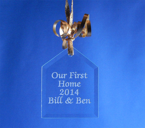 Personalized House Ornament