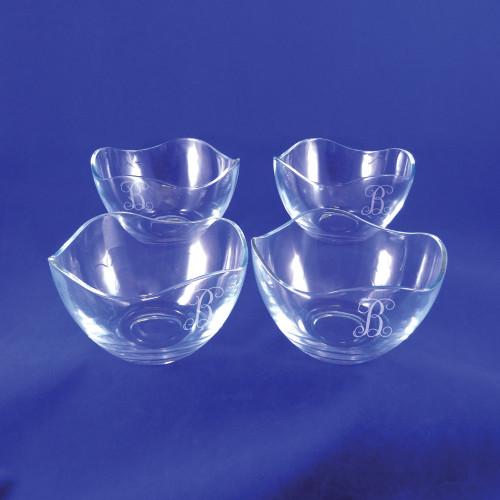 Monogrammed Small Gala Bowls