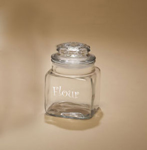 Personalized Medium Canister Jar