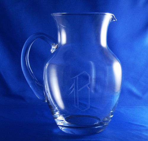 Monogrammed Sunbeam Pitcher
