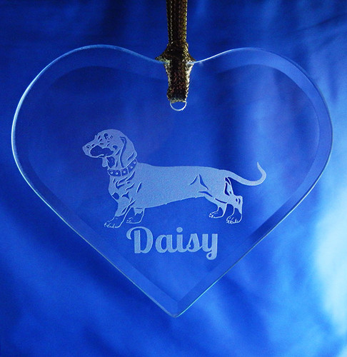 Personalized Pet Heart Ornament