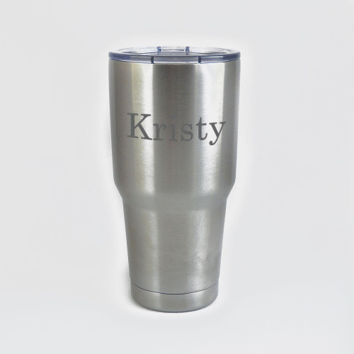 Personalized Stainless Steel 30oz Insulated MANTA Tumbler Mug