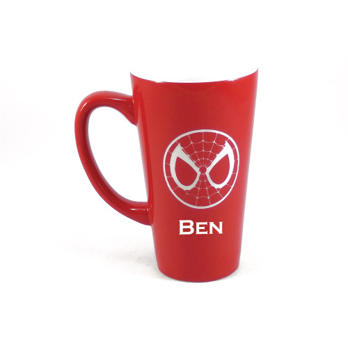 Personalized Red Spider-Man Mug