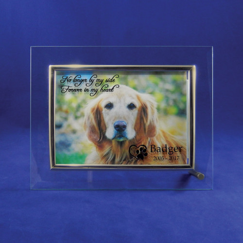 Pet Memorial Picture Frame - In My Heart