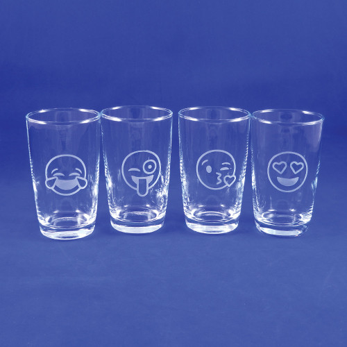 Emoji Juice Glasses