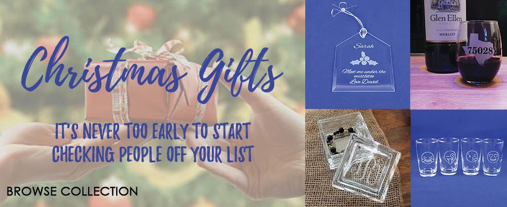 Get yoru Christmas shopping started early!