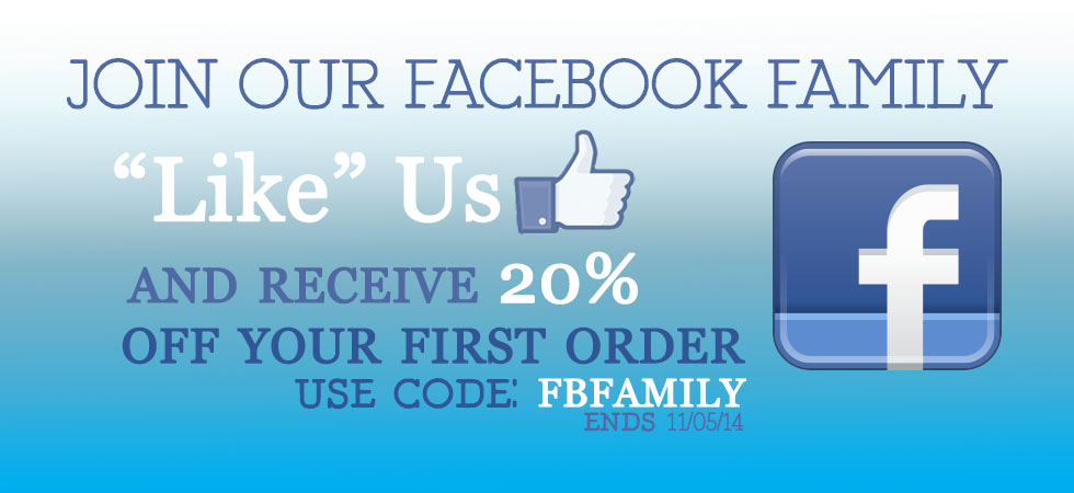 """Join The Crystal Shoppe's Facebook Family, """"Like"""" us today!"""