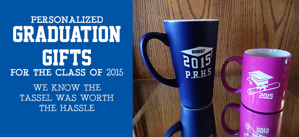 Order a personalized gift to celebrate your Graduate today!