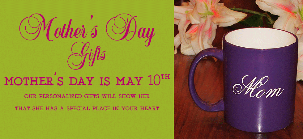 Personalized Mother's Day Gifts from The Crystal Shoppe
