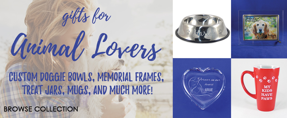 Order personalized gifts for your pets!