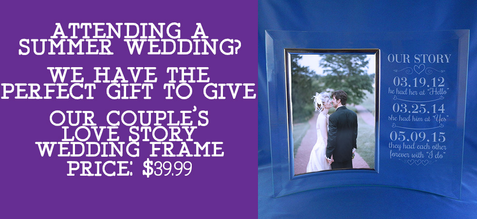 Give the Happy Couple, the perfect Wedding Keepsake!