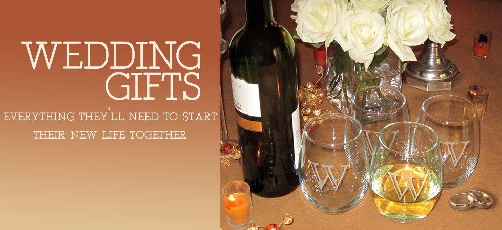 Wedding Gifts for The Bride and Groom, Bridesmaids, and Groomsmen