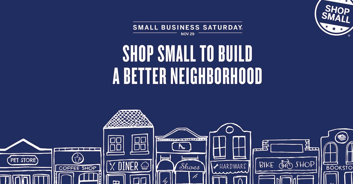 Shop local and Join The Crystal Shoppe for Small Business Saturday November 29th!
