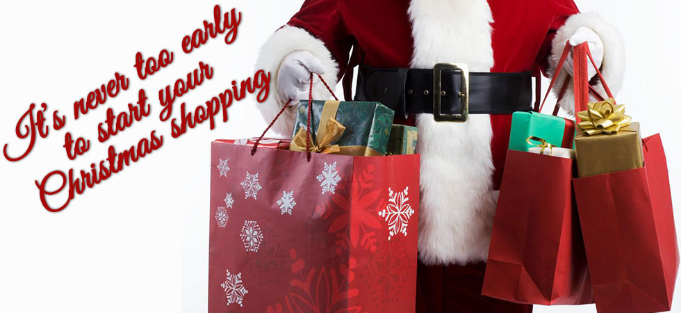 It's Never too Early to start christmas Shopping!