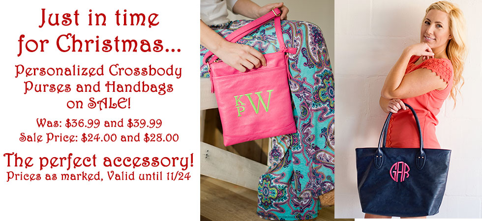Order a personalized Purse today and save big!
