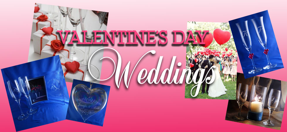 Vaneltine's Day Themed Wedding Gifts