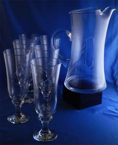 Monogrammed Raquelle Capri Drink Set