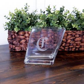Personalized Slant Vase