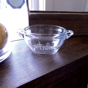 Personalized Baking Bowl with Handles