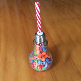 Personalized Lightbulb Glass