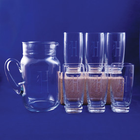 Personalized Mason Sterling Drink Set, 7 Pieces