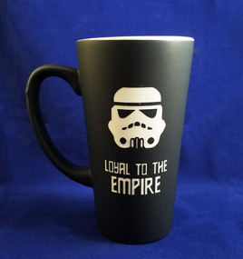 Personalized Black Star Wars Storm Trooper Mug