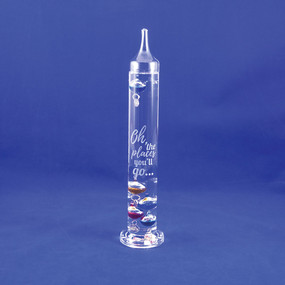 Personalized Galileo Thermometer