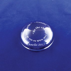 Personalized Graduation Magnifying Paperweight