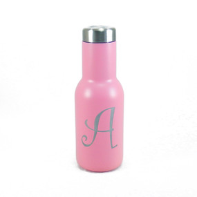 Personalized Pink MANTA Insulated Water Bottle