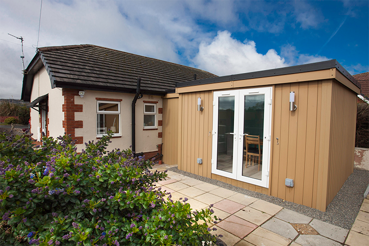 Garden Room Home Extension in Talacre, North Wales