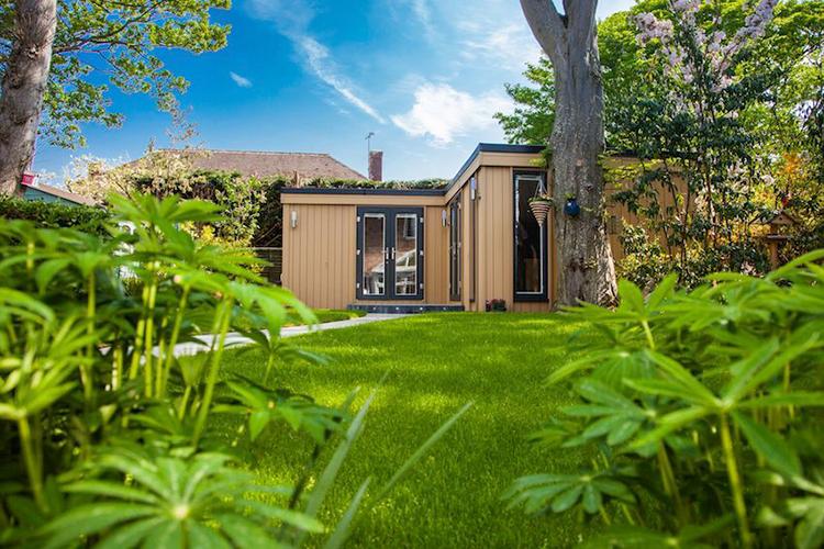Garden Office in Wirral, Cheshire