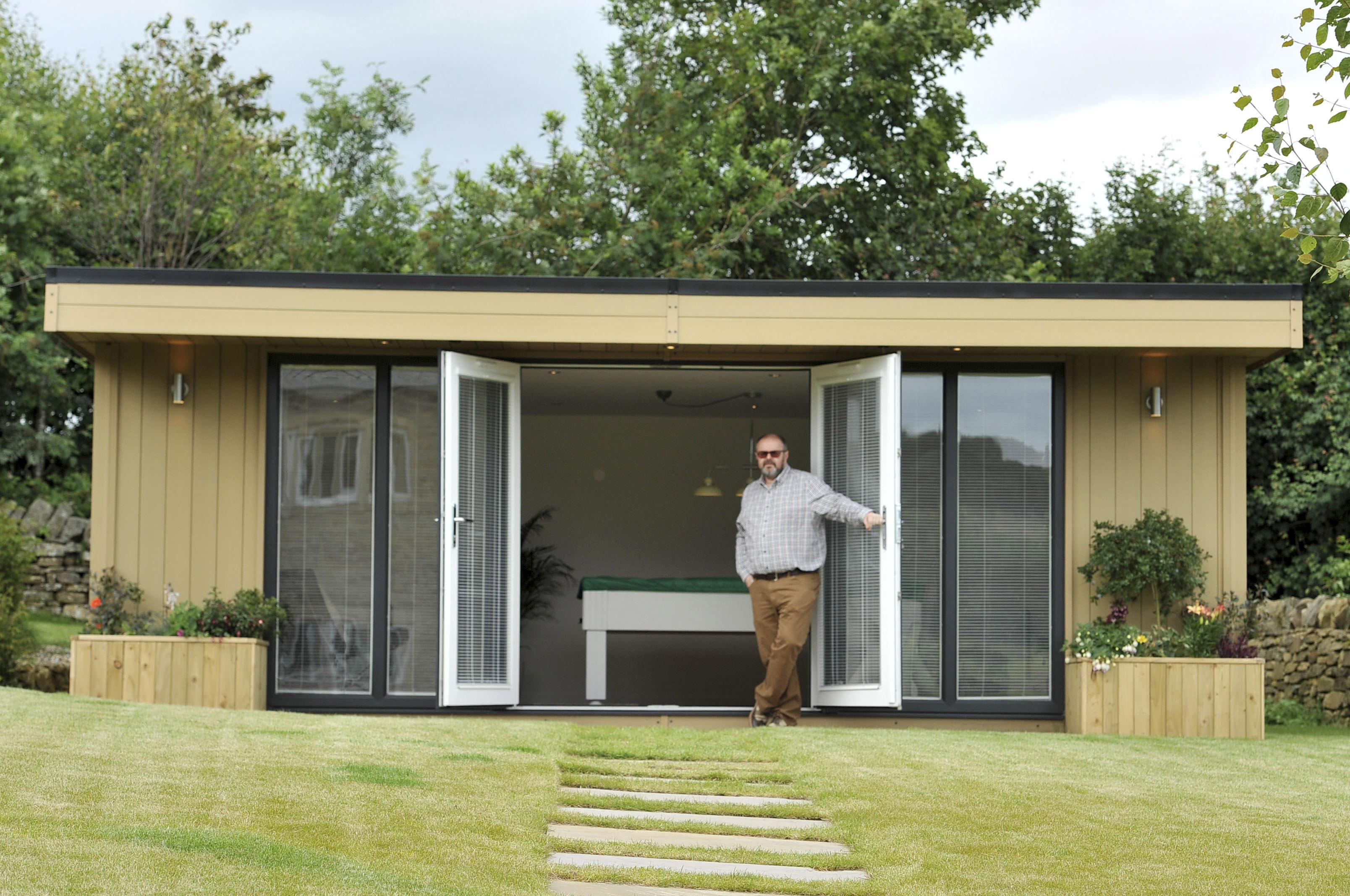 Pool house building regulations uk