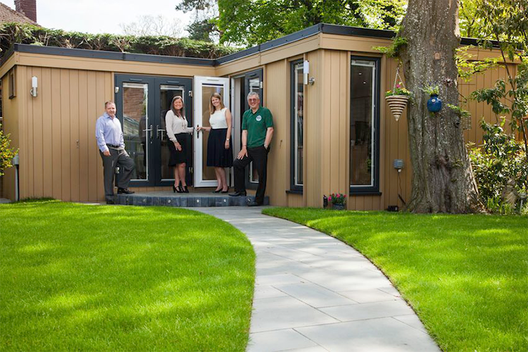 Garden Office for Property Search Group Ltd - Wirral, Cheshire