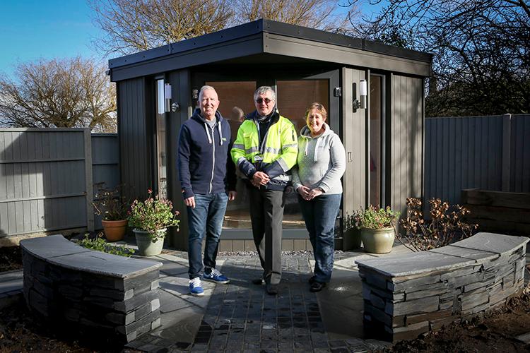 Garden Studio in Hawarden, Nr Chester, Flintshire