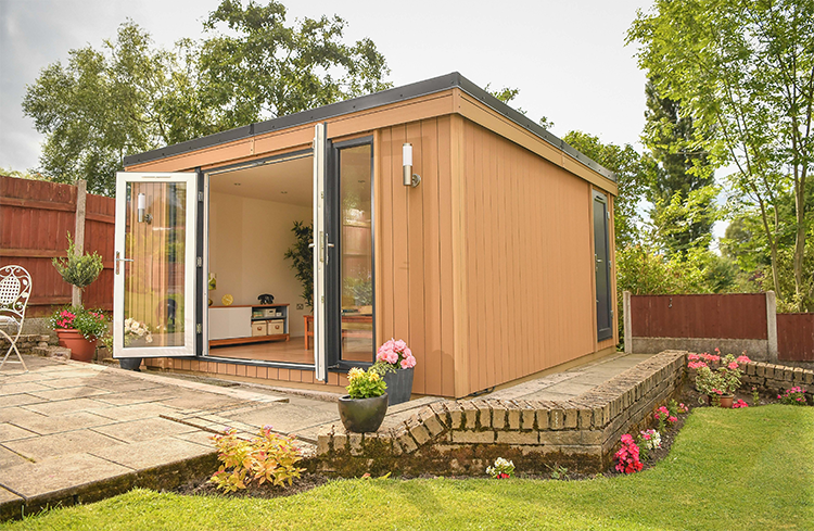 Garden Room and Store in Stockport, Manchester