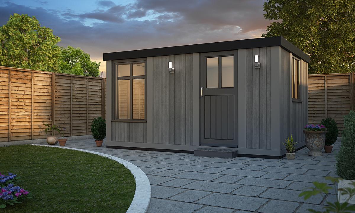 Cabin Style X 3m Rubicon Garden Rooms