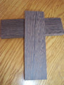 Wenge Bridge blank flatsawn