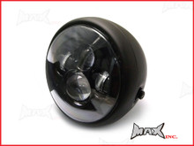 7.5 INCH High Quality Projector LED Matte Black Metal Headlight